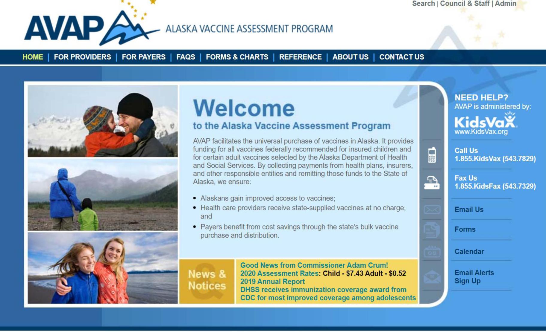 Alaska Vaccine Assessment