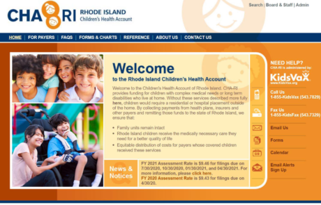Rhode Island Children's Health Account